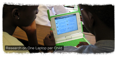 Research on One Laptop per Child