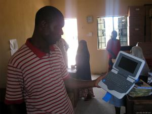 An Intel Classmate school in Nigeria