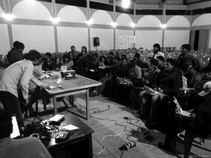 Grassroot conference with Turle Art Workshop (Peru)