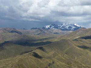 Rain is drawing near in the Peruvian Andes